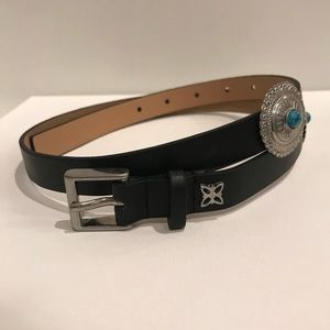 New BCBGeneration Black With Metal Turquoise